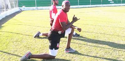 Kevin Mina, delantero de Guabirá (Foto: Nils Angulo)