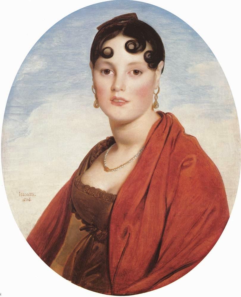 A Bela Zelie - Ingres e suas principas pinturas ~ Neoclassicismo