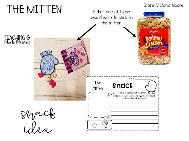 The Mitten Snack Idea