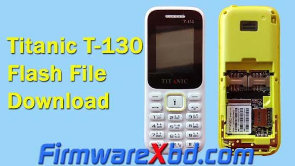 Titanic T-130 6531E Official Flash File Download