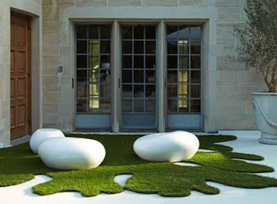 Como limpio mis paredes y jardines con follaje artificial