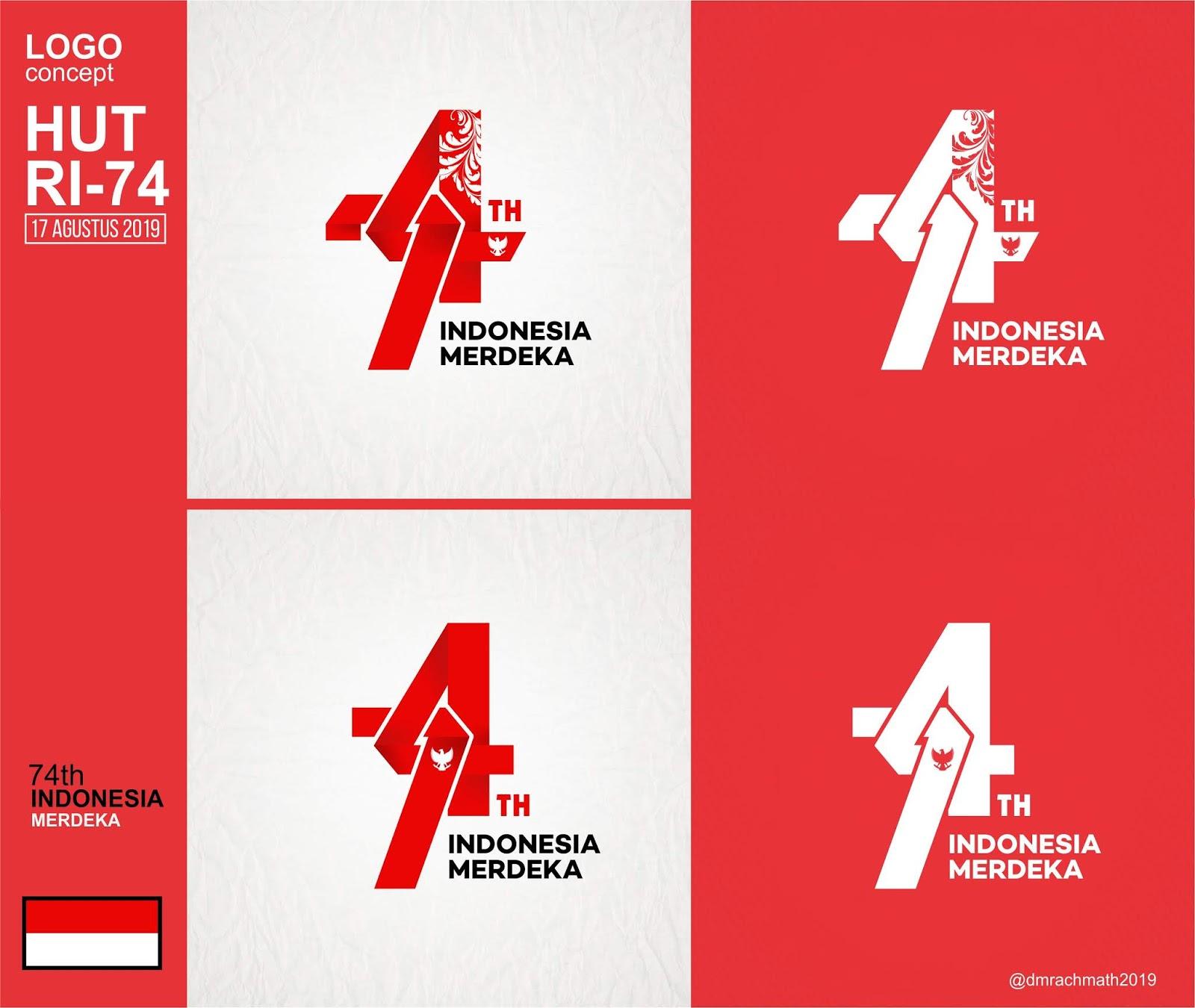 440+ Foto Desain Logo Hut Ri HD Unduh Gratis