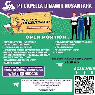 13 Lowongan di PT Capella Dinamik Nusantara