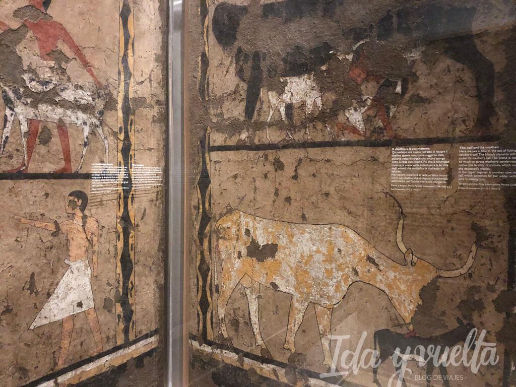 Museo Egipcio de Turin Iti y Neferu