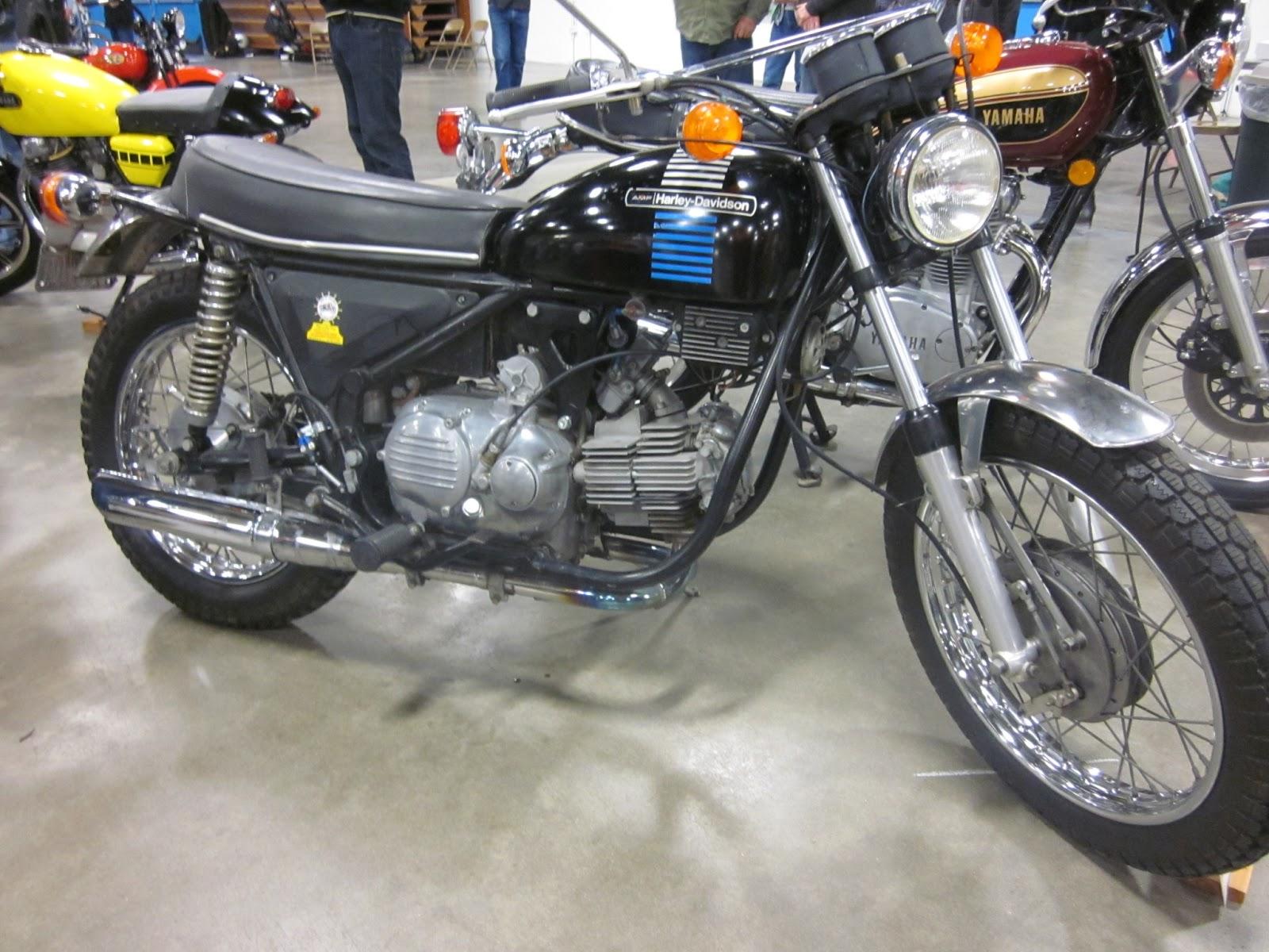 OldMotoDude: Sold my 1973 Harley Davidson -- Aermacchi SS350 Sprint
