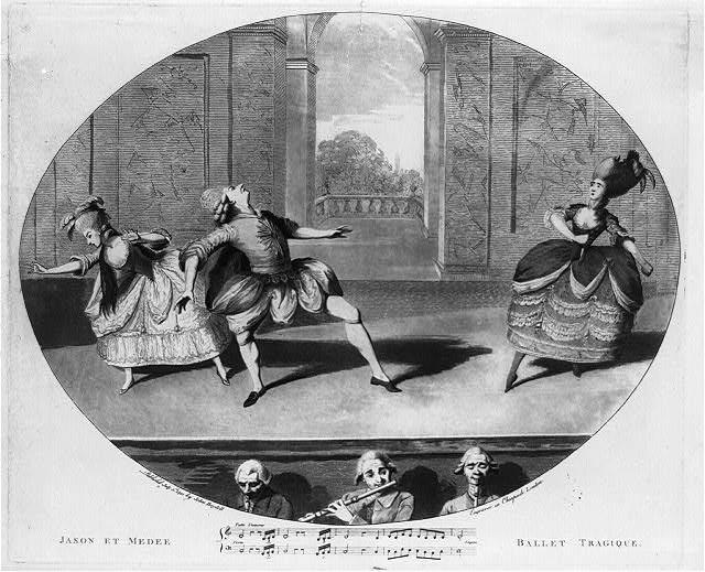 Gaëtan Vestris in Noverre's Jason et Médée