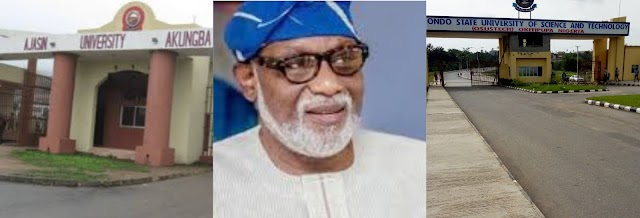 #AketiReduceOrResign: See How Students Blow Hot As Akeredolu refuses To Revise Their School Fees