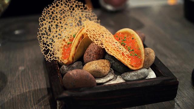Tuljak Caviar taco - www.blancdeblancs.fi
