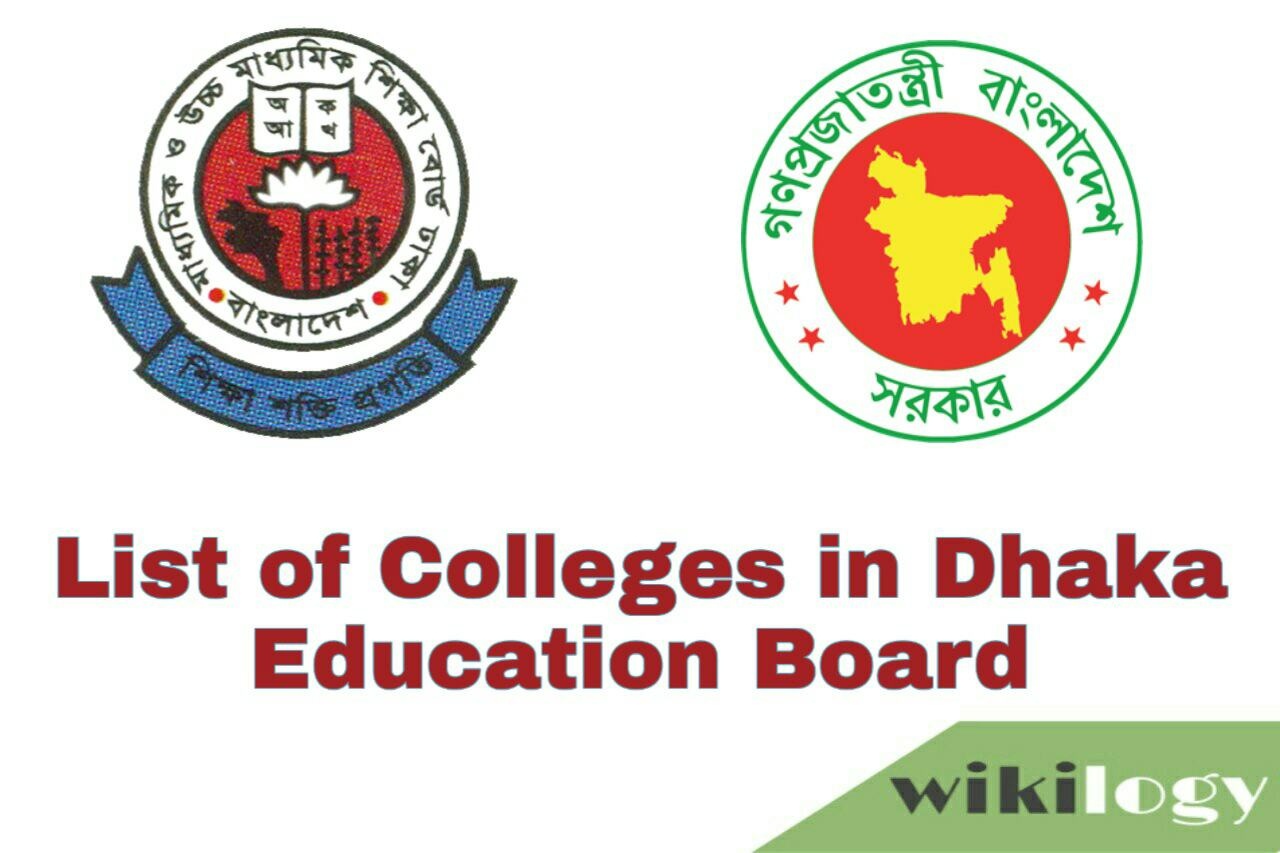 List of College in Dhaka Board with EIIN