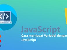 Cara membuat Variabel dengan JavaScript