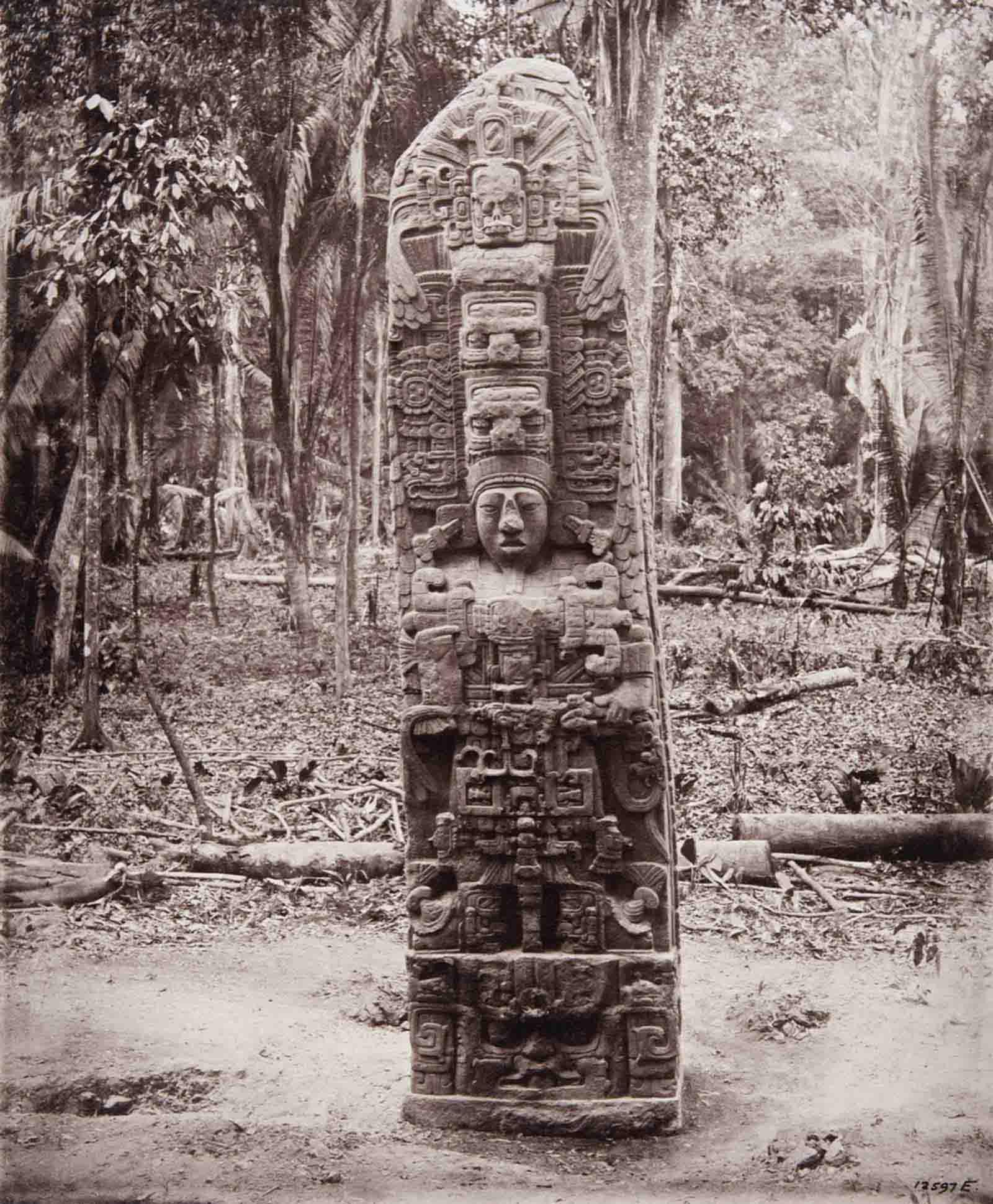 vintage photos discovery maya ruins