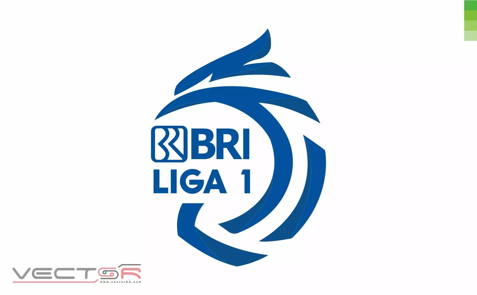 BRI Liga 1 Indonesia Logo (Color) - Download Vector File CDR (CorelDraw)