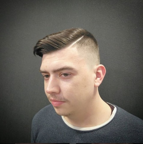 Thin Hair Hipster Hairstyle