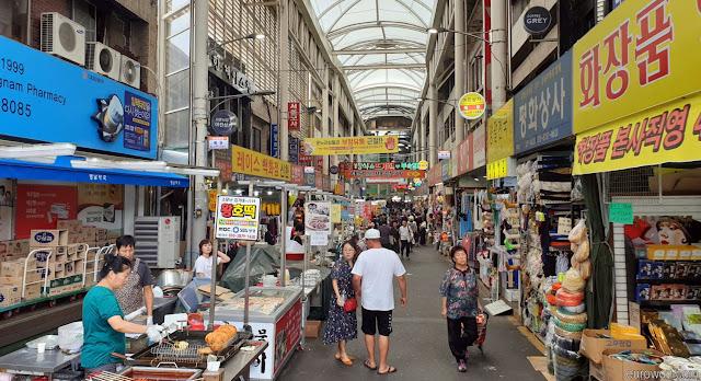 Mercado tradicional coreano en Daegu
