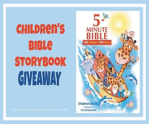 Children's Bible Storybook Giveaway