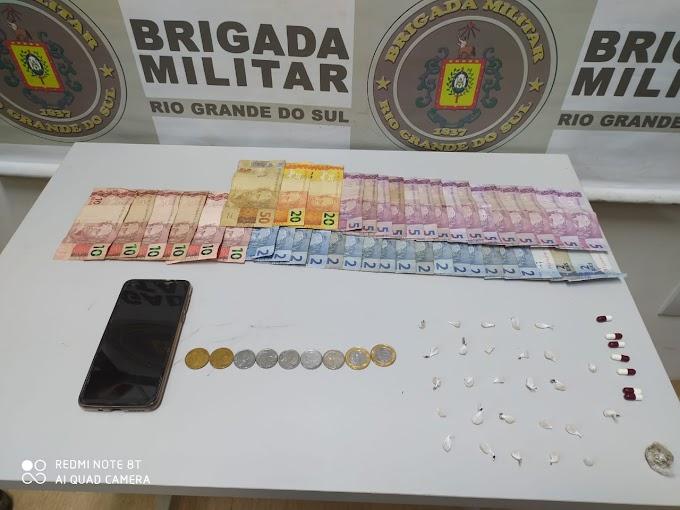 Adolescente é apreendido por tráfico de drogas na Morada do Vale em Gravataí