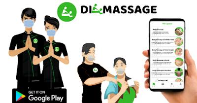 Di-Massage Layanan Pijat Panggilan Keluarga berbasis Aplikasi