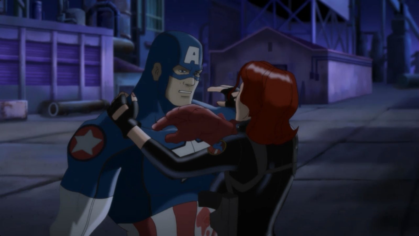 do black widow and captain america relationship