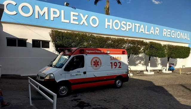 Hospital de Patos registra aumento de 11% nos atendimentos às vítimas de acidentes de trânsito