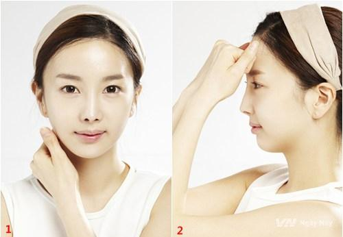 Massage cho da mặt và cổ