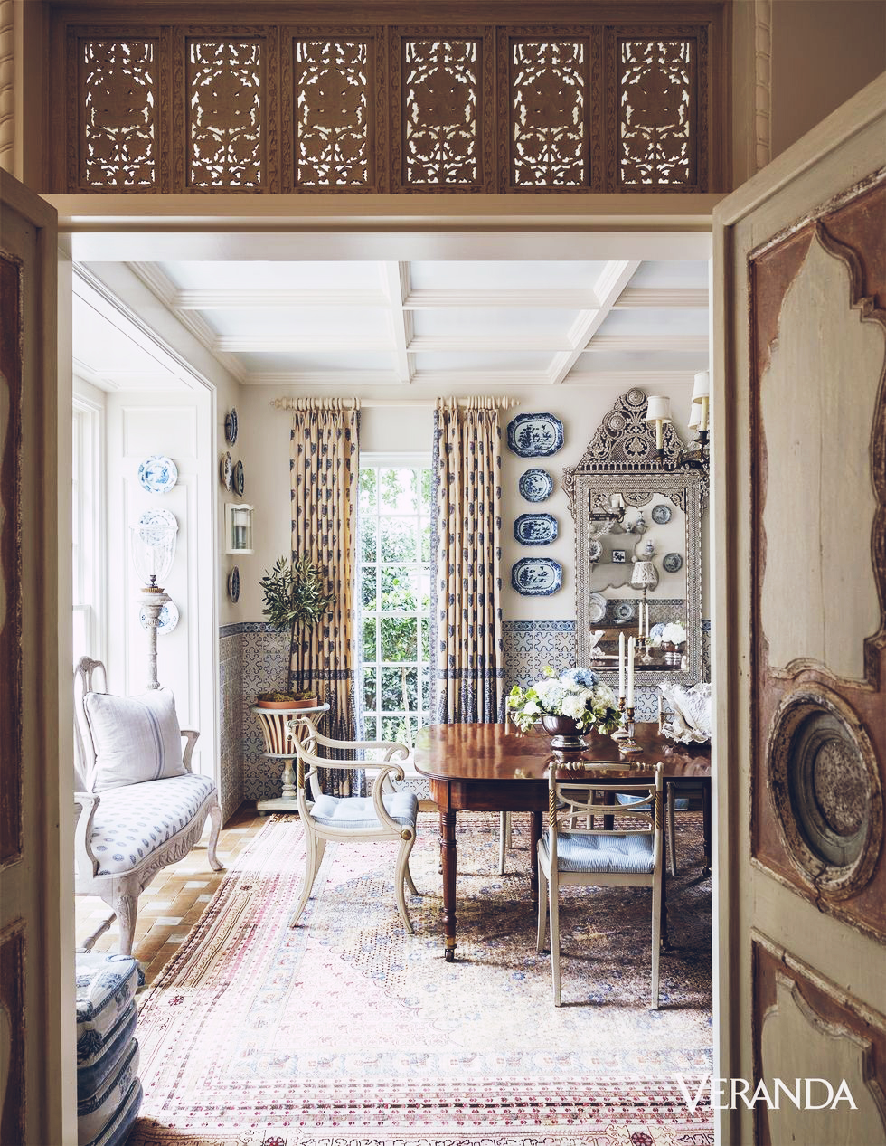 Design Inspiration : A Spanish Colonial in Dallas, Texas Designed by Cathy Kincaid