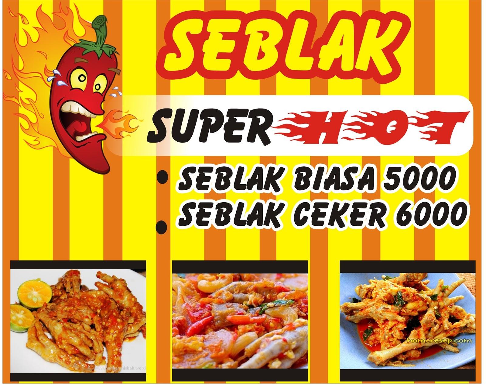 Download Kumpulan Contoh Spanduk Seblak.cdr - KARYAKU