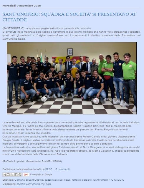 Squadra 2016/2017