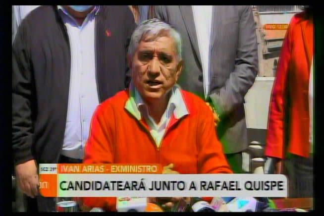 Iván Arias confirma candidatura para Alcalde por La Paz; perfila alianza con el tata Quispe
