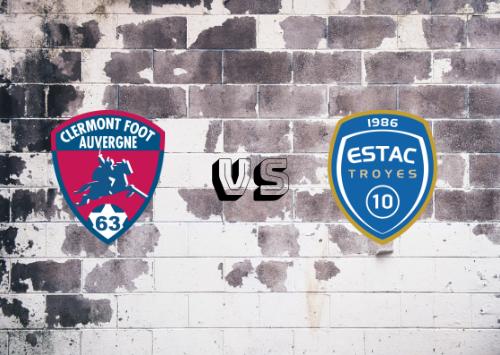 Clermont Foot vs Troyes  Resumen