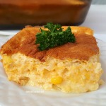 Sunday supper favorite side dish ~ Mousse textured and sooo cheesy  !