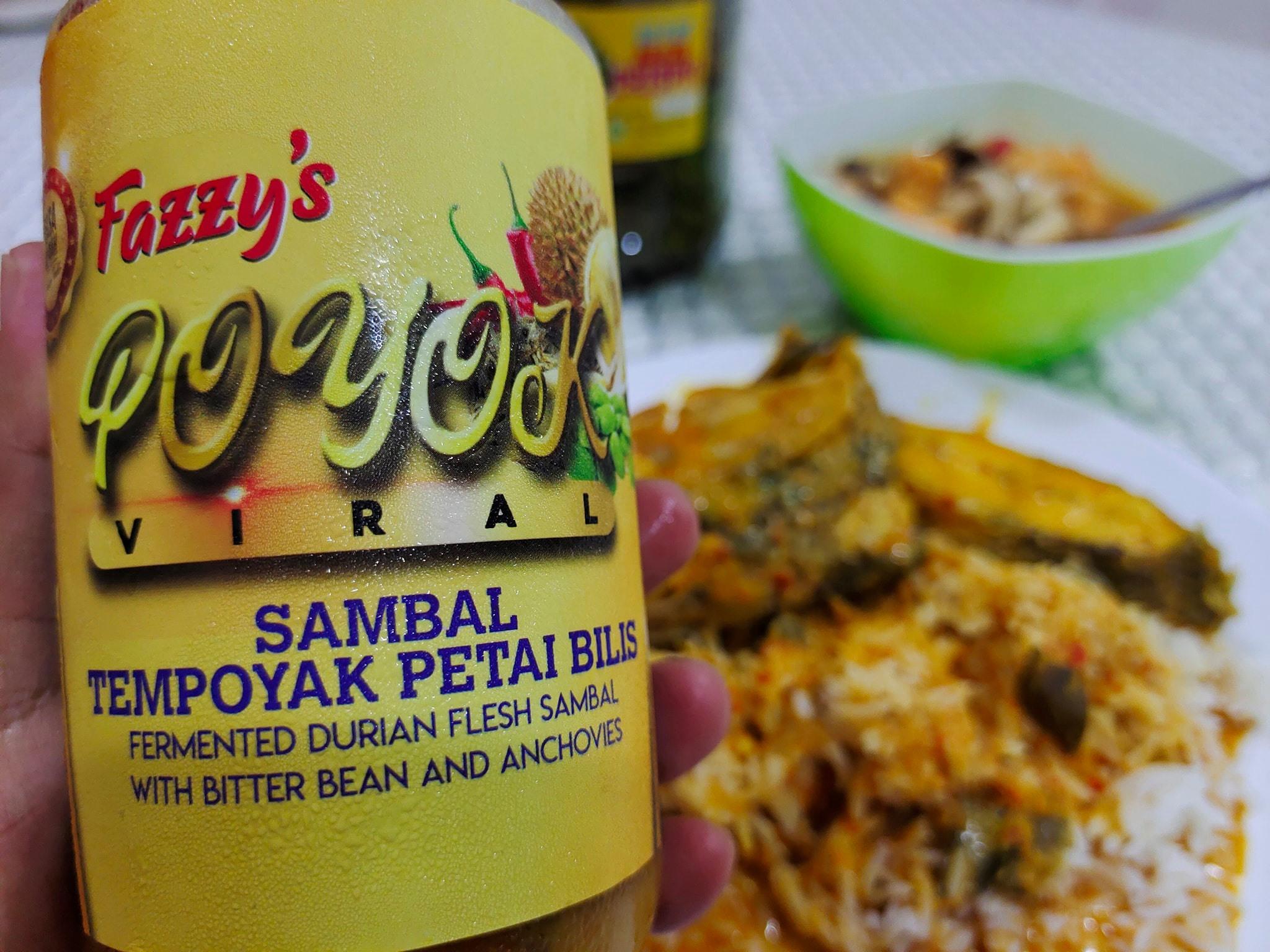 Sambal Tempoyak Petai Bilik (POYOK) Fazzy's Memang Sedap Giler