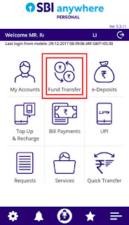 how to add intra bank beneficiary in sbi anywhere