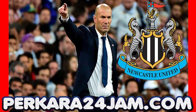 Newcastle United Mengincar Zidane Sebagai Manager Baru