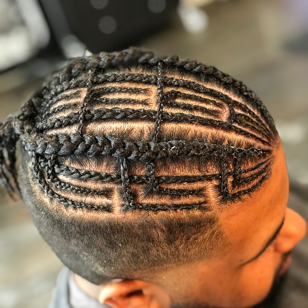 Latest Braided Hairstyles For Men
