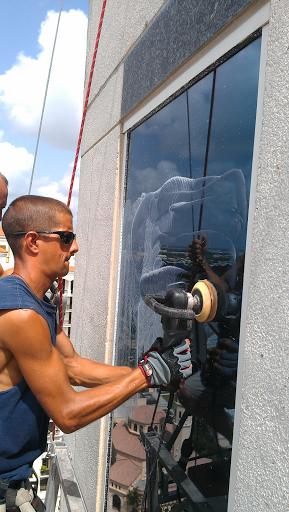 High Rise Glass Restoration Work