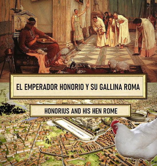 El emperador Teodosio, al morir en el 395 d. C., dividió el imperio entre sus dos hijos, siendo la parte occidental para su hijo menor Honorio