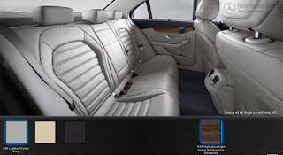 Nội thất Mercedes C250 Exclusive 2015 màu Xám Crystal 248