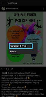 Cara Mengarsipkan Semua Postingan Instagram 13