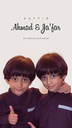 Wallpaper Sayyid Ahmad dan Jafar 201120