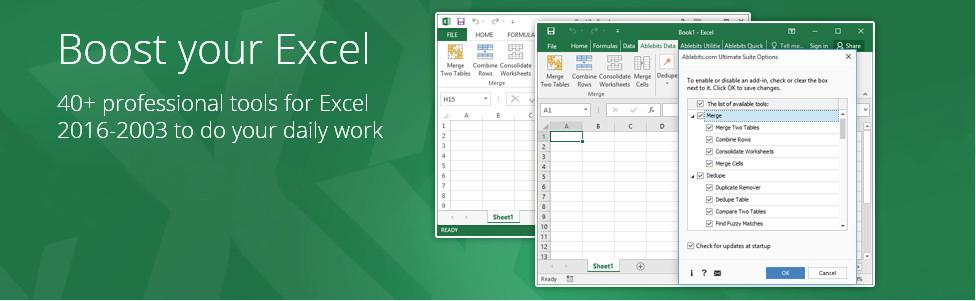 ablebits ultimate suite for excel download