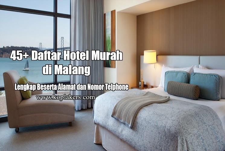 45 Daftar Harga Hotel Murah Di Malang Lengkap Dengan Alamatnya