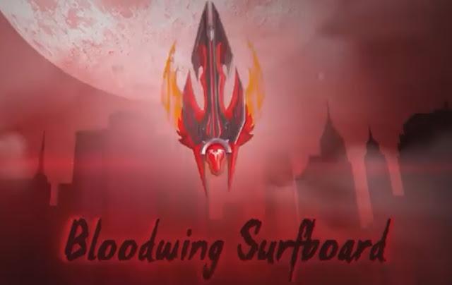 bloodwing surfboard