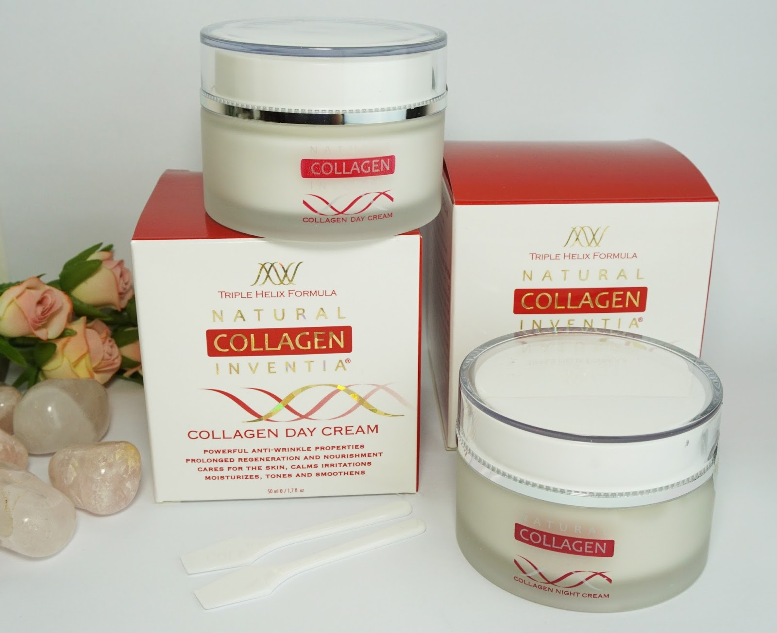 Natural Collagen Inventia - Tages- und Nachtcreme