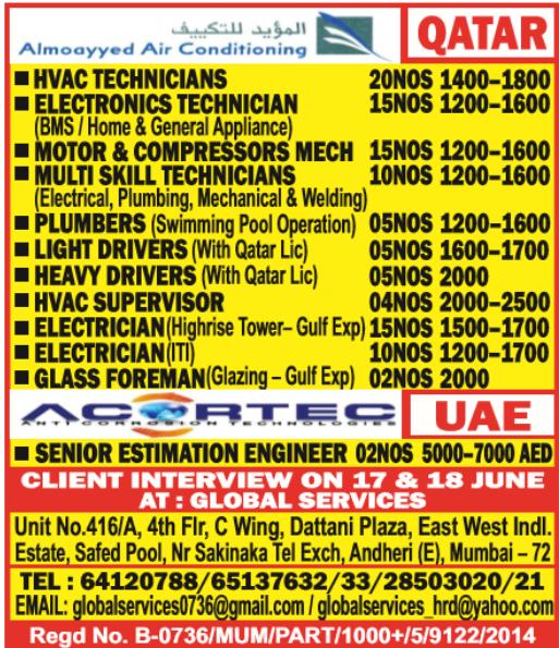 Hvac new qatar hvac jobs pictures of qatar hvac jobs qatar mmup exam for mechanical engineers fandeluxe Gallery