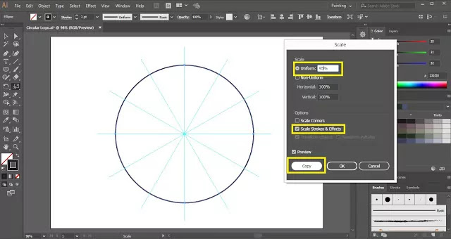 Circular Logo Design in Illustrator