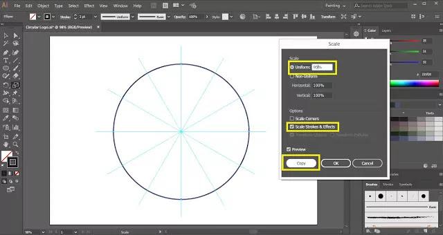Circular Logo Design in Illustrator