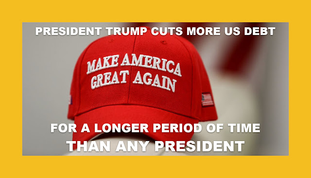 Memes: MAGA PRESIDENT TRUMP CUTS MORE US DEBT