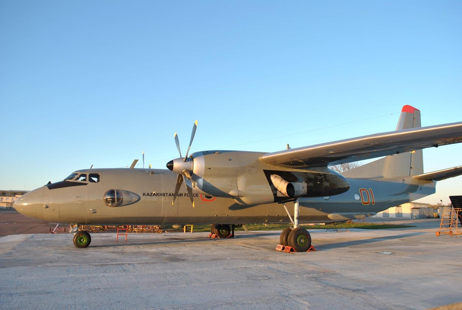 «Завод 410 ЦА» передав два відремонтовані літаки Ан-26 Міністерству Оборони Республіки Казахстан