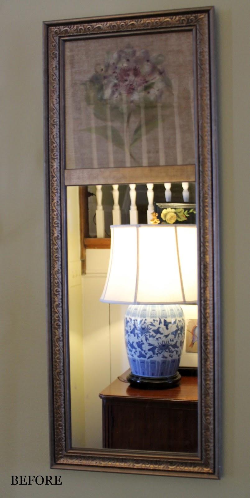Designing Domesticity Mod Podge Mirror