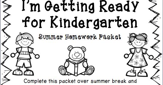 2 Crazy Texas Teachers: PreK Summer Homework
